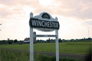 Winchester Sign
