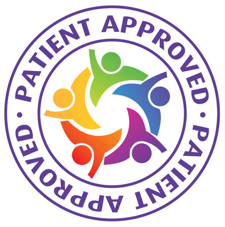 patient approval seal