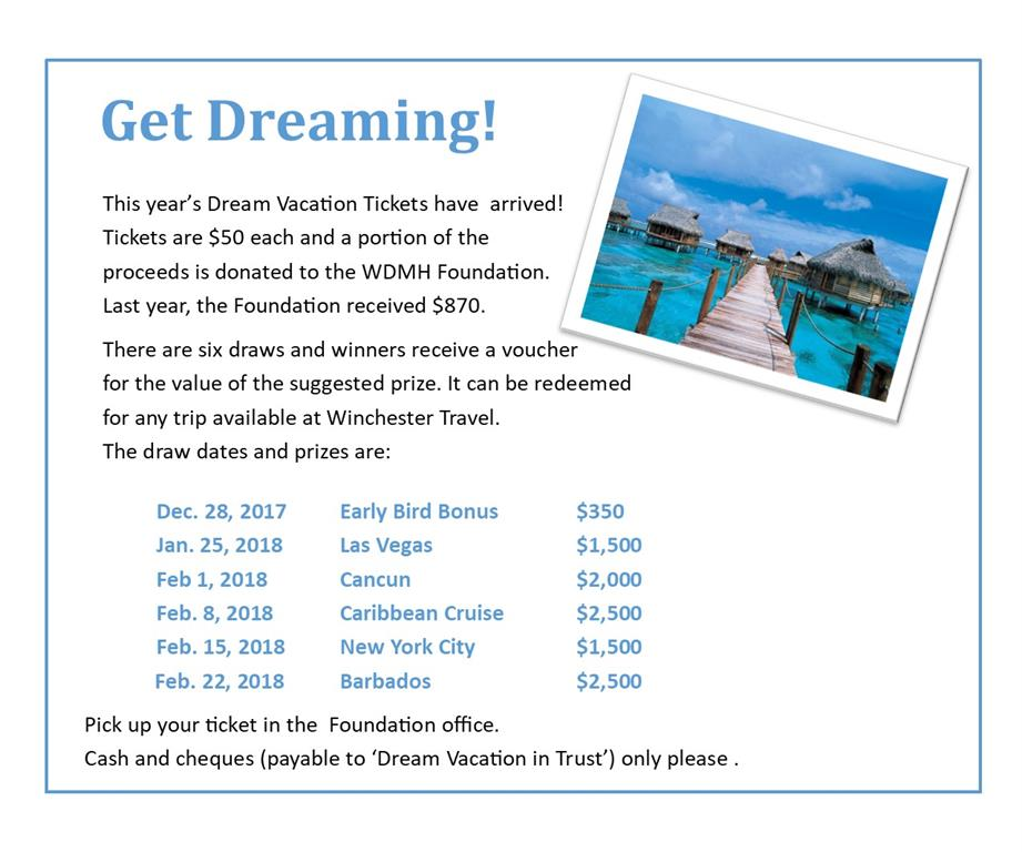 dream vacation ad